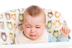 De schreeuwende Jongen van de Baby Royalty-vrije Stock Fotografie