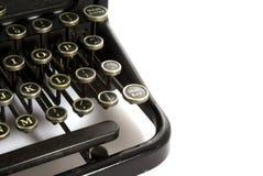 De schrijfmachine van het detail Stock Fotografie