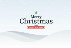 De schrijver uit de klassieke oudheid huwt Kerstmisachtergrond met groen vector illustratie