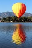 De Schrijver uit de klassieke oudheid van de Ballon van Colorado Springs Royalty-vrije Stock Fotografie