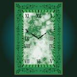 De schrijver uit de klassieke oudheid van de klokrechthoek Royalty-vrije Stock Afbeelding