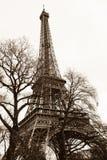 De Schrijver uit de klassieke oudheid van de Toren van Eiffel Stock Afbeeldingen