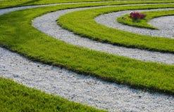 De Schroef van Gras bij een Kerkhof Royalty-vrije Stock Fotografie