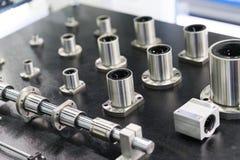 De schroef van de hoge precisiebal voor hoge snelheids scherpe machines stock afbeelding