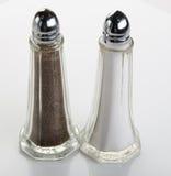 De Schudbeker van het zout & van de Peper Stock Afbeelding