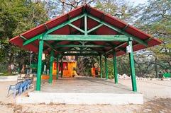 De schuilplaats van het park Stock Foto