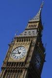 De schuine stand van de Big Ben Stock Fotografie
