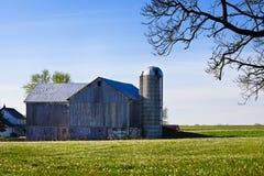 De Schuur van Amish Royalty-vrije Stock Afbeeldingen