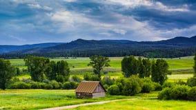 De schuur van Colorado royalty-vrije stock foto