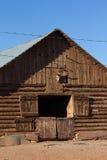 De Schuur van de logboekboerderij Royalty-vrije Stock Fotografie