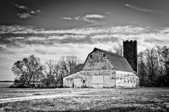 De Schuur van het land in het Midwesten Royalty-vrije Stock Foto's