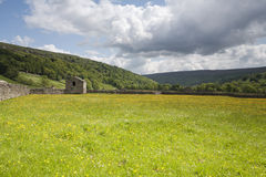 De schuur van Swaledale, het Nationale park van de Dallen van Yorkshire Royalty-vrije Stock Afbeelding