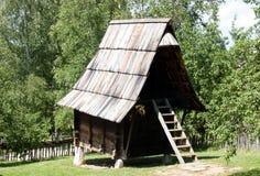 De schuur, zet Zlatibor, Servië op stock afbeeldingen