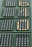 De score van het tennis royalty-vrije stock foto's