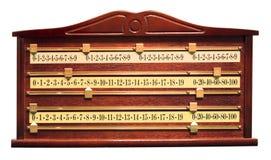 De scoreraad van de snooker Royalty-vrije Stock Afbeelding