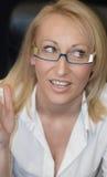 De Secretaresse van het zweet Stock Afbeeldingen