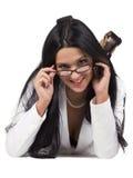 De secretaresse van Nice Royalty-vrije Stock Afbeeldingen