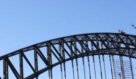 De sectie van de brugspanwijdte Royalty-vrije Stock Foto