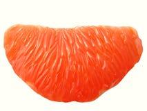 De sectie van de grapefruit Stock Afbeelding