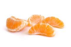 De Secties van de Mandarijn van de clementine royalty-vrije stock afbeelding