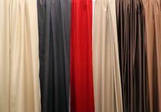 De seda drapeja texturas fotografia de stock royalty free