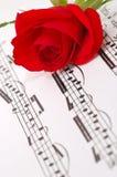 De seda vermelho aumentou foto de stock royalty free
