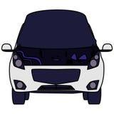 De sedan open bumper van het autovoertuig royalty-vrije illustratie