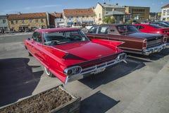 1961 de Sedan van Cadillac Deville Stock Foto's