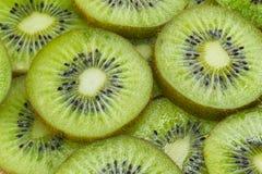 De segmenten van de kiwi Royalty-vrije Stock Foto's