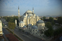 De Sehzade-Moskee in Istanboel, Turkije royalty-vrije stock foto