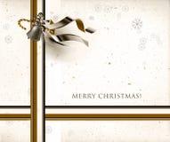 De seizoenenprentbriefkaar van Kerstmis Stock Foto's