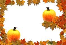 De Seizoengebonden Achtergrond van de Grens van de herfst royalty-vrije stock afbeelding