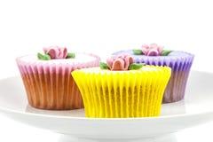 De selectie van Cupcake Stock Foto's