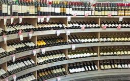 De Selectie van de wijn Stock Fotografie