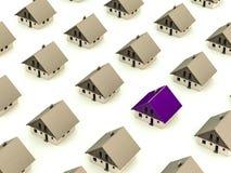 De selectie van het huis vector illustratie
