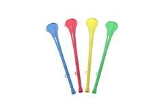 De selectie van Vuvuzela Stock Afbeeldingen