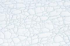 De selectieve plastic achtergrond van de nadruk abstracte barst royalty-vrije stock foto