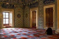 De Selimiye-Moskee in Edirne, Turkije stock afbeelding