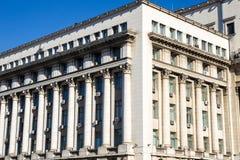 De Senaat van het architectuurpaleis, momenteel het Ministerie van Binnenland Royalty-vrije Stock Foto