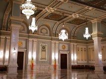 De Senaat van Roemeense binnen royalty-vrije stock afbeeldingen