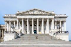 De Senaat van Verenigde Staten bij het Capitool stock fotografie