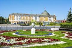 De Senaatspaleis van het Kremlin in Moskou, Rusland royalty-vrije stock foto's
