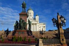 De Senaatsvierkant van Helsinki Stock Foto's