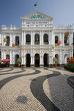 de senado Largo Macau Fotografia Royalty Free