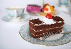 De sensatie van de chocolade royalty-vrije stock afbeeldingen