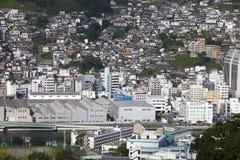 13 de septiembre 2016 ciudad de Nagasaki, Japón Fotografía de archivo