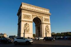 9 de septiembre de 2015, el arco triunfal, París, Francia Foto de archivo