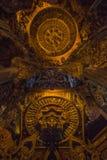 14 de septiembre de 2014 El templo verdadero es un completel único del templo Foto de archivo