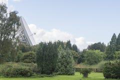 25 de septiembre de 2016 Observatorio del banco de Jodrell, Cheshire, Reino Unido E Imagen de archivo libre de regalías