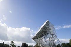 25 de septiembre de 2016 Observatorio del banco de Jodrell, Cheshire, Reino Unido E Fotos de archivo libres de regalías
